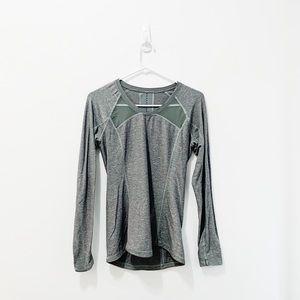 Grey Long-Sleeve Lululemon Top